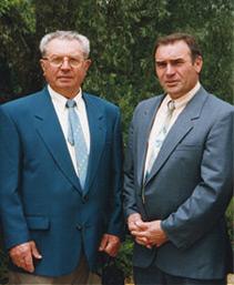 famille-grand-Leon-Grand-et-Jean-Claude-Grand-1985